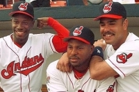 Kenny Lofton, Albert Belle, and Carlos Baerga during the 1990's