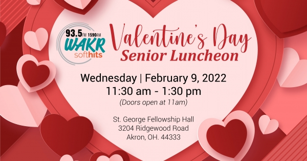 WAKR Valentines Senior Lunch