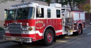Akron Firefighters Seeing Through Smoke