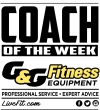 G&G Fitness Equipment Company Coach of the Week (03/01/19)