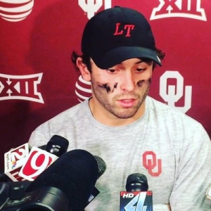b4f7d2773f8 Baker Mayfield, while at Oklahoma. Former Marshall Thundering Herd and NFL  Quarterback Chad Pennington spoke with ...