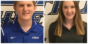 1590 WAKR Student Athletes of the Week: Zach Miller & Lauren Davis