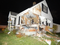 Allegedly Drugged Driver Crashes Into Canton Township Home