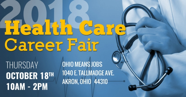 Healthcare Career Fair - Fall 2018